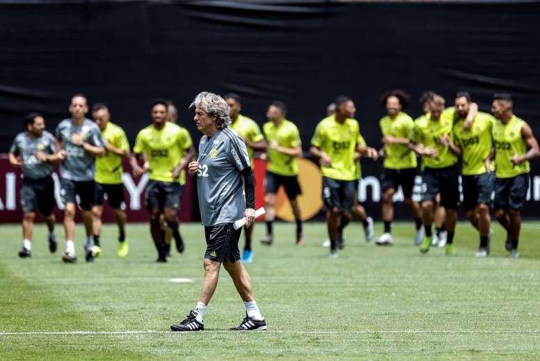 Flamengo aísla a otro jugador tras dar positivo por coronavirus. EFE/AntonioLacerda