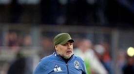 El futuro de Maradona en Gimnasia depende de las elecciones. EFE