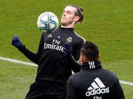 Bale s'y attendait pour le drapeau. EFE