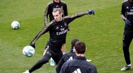 El Madrid se entrenó sin James en la última sesión antes de poner rumbo a Mestalla. EFE