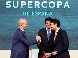 RTVE defiende y reafirma su no a la Supercopa. EFE/Kiko Huesca