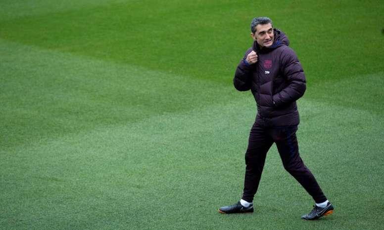 Valverde, graceful until the end. EFE