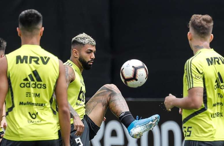 Jogadores do Flamengo se mostram favoráveis. EFE/Antonio Lacerda