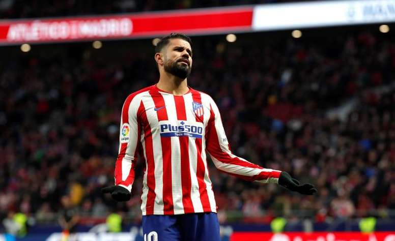 Tres meses después, Costa reapareció a lo grande. EFE/ Emilio Naranjo