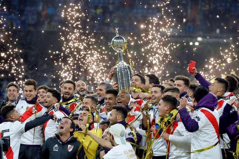 El imperdible documental de River Plate sobre la final única. EFE