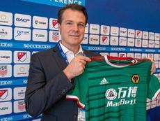 ¡Los aficionados mexicanos del Wolves quintuplican a los ingleses! EFE/Giorgio Viera