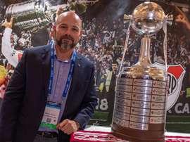 River advirtió del gran momento de Flamengo. EFE/Giorgio Viera