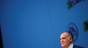 Javier Tebas sigue expendiendo los horizontes de LaLiga. EFE/ David Fernández/Archivo