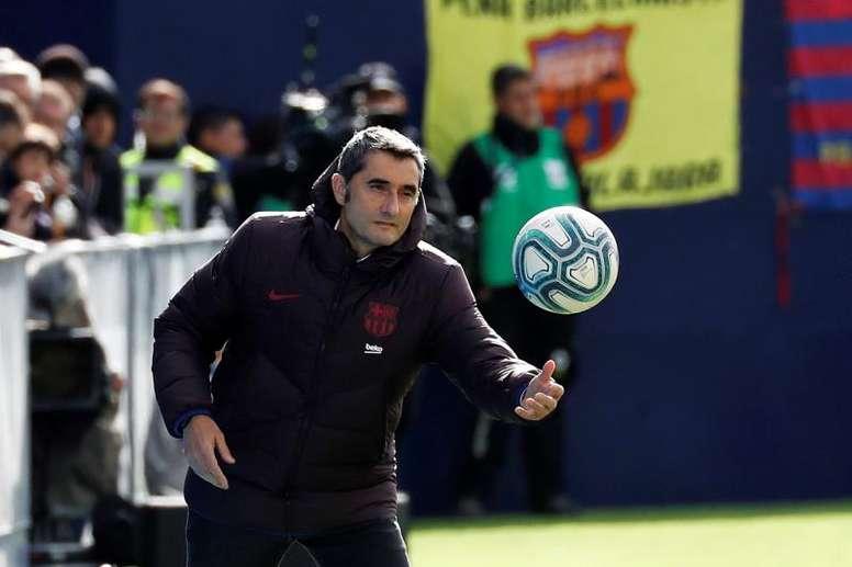 Valverde valoró el triunfo. EFE