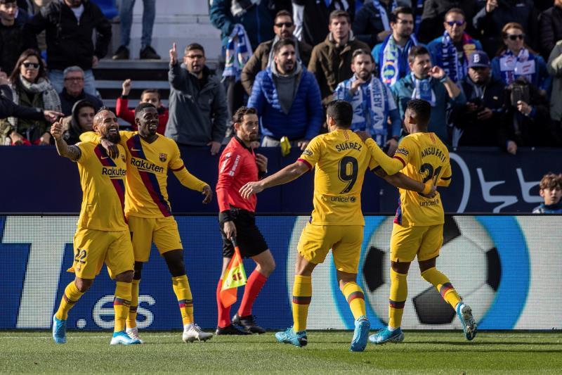 Le Barça a cravaché à Leganés — Liga