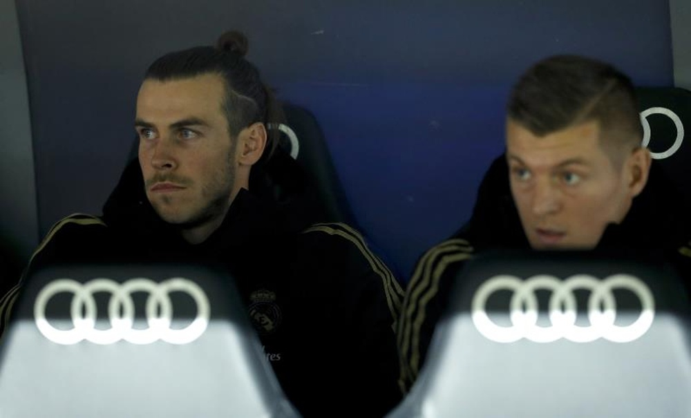 Bale y Kroos llevan años compartiendo equipo. EFE