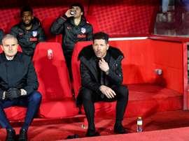 Cinco equipes que podem acabar com o sonho do Atlético de Madrid. EFE/Miguel Angel Molina