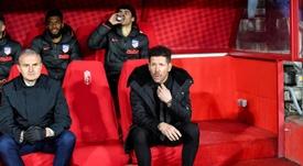 Para Simeone, foi a melhor atuação do time como visitantes nesta temporada. EFE/ Miguel Angel Molina