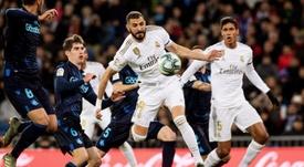 Benzema et le Real sont prêts pour Paris. AFP