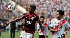 Chineses estão de olho em Bruno Henrique. EFE/Antonio Lacerda