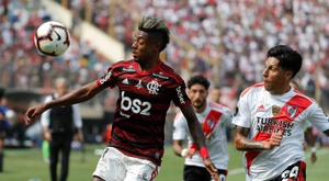 Aseguran que Bruno Henrique dio positivo en un control antidoping. EFE/Antonio Lacerda