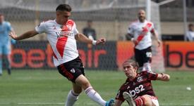 River se déplacera loin pour jouer en Libertadores. EFE/PAOLO AGUILAR