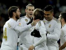 El Madrid necesitaba a Modric y Luka respondió. EFE