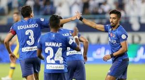 Al Hilal se llevó la Champions de Asia. EFE