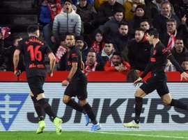 Le groupe de l'Atlético Madrid pour affronter Villarreal en Liga. EFE