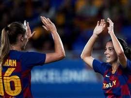 El Barça se impuso al Deportivo con 'hat trick' de Hansen. EFE