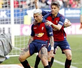 Le joueur de Liga qui espère pouvoir jouer avec Messi. EFE