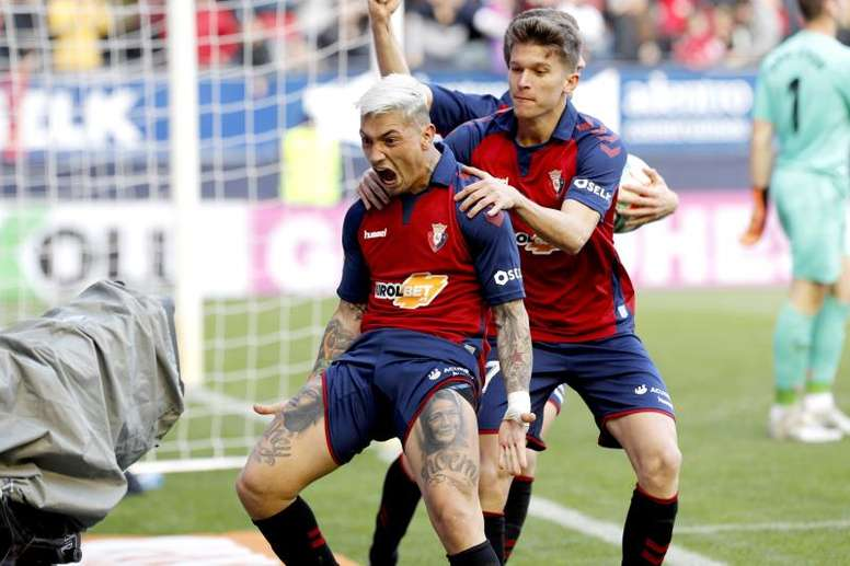 Chimy Avila praised Messi's quality. EFE