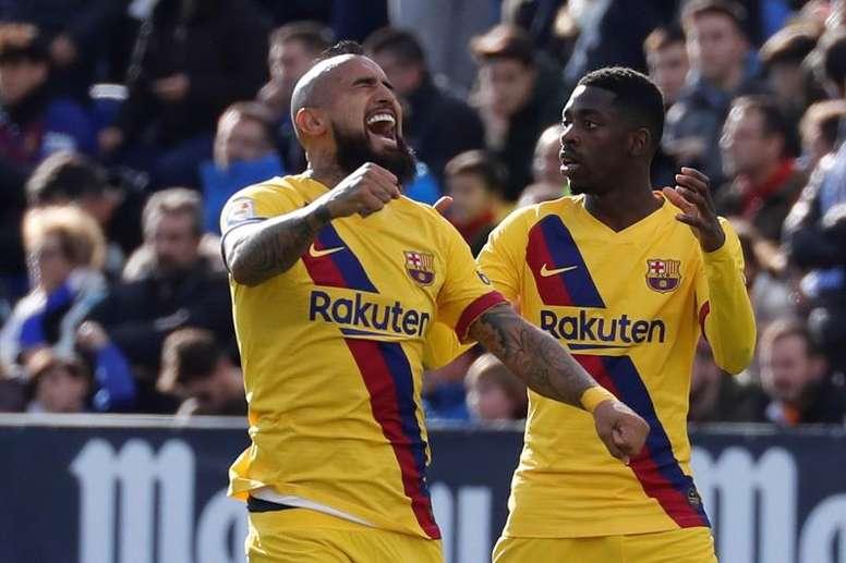 Vidal suena para jugar en Inglaterra. EFE