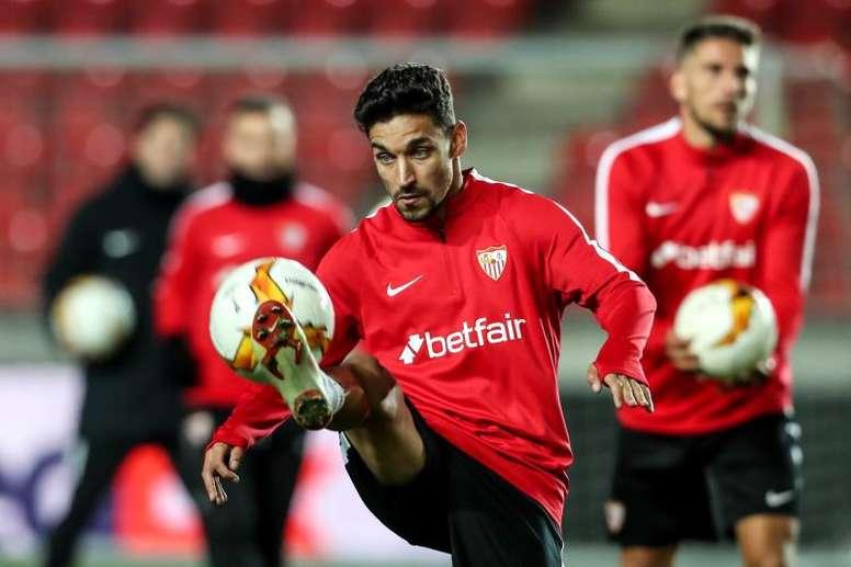 José Lara se deshizo en elogios hacia Navas. EFE/Martin Divisek