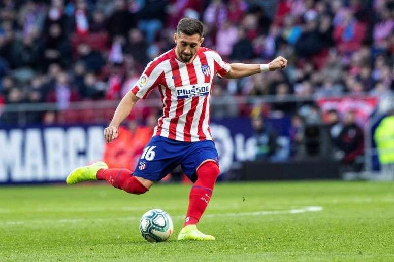 Herrera habló de la actuación de Leo Messi. EFE