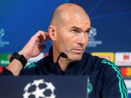 Um problema e tanto para Zidane. EFE