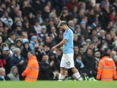 Guardiola confirmó que el argentino tiene un problema en el tendón. EFE/EPA