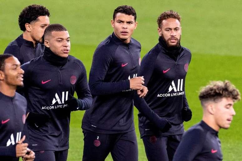 Le PSG temporiserait pour Thiago Silva. EFE