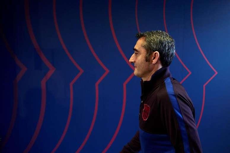 Ernesto Valverde a fait ses valises. AFP