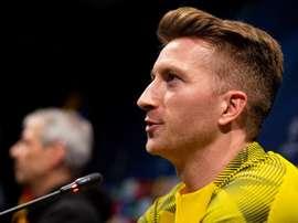 Reus spoke about Barcelona's reported interest. EFE