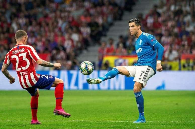 Sarri refuse de croire à un déclin de Cristiano Ronaldo. EFE