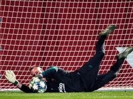Internautas perguntaram qual o atacante mais difícil que Ter Stegen enfrentou. EFE/Alejandro García