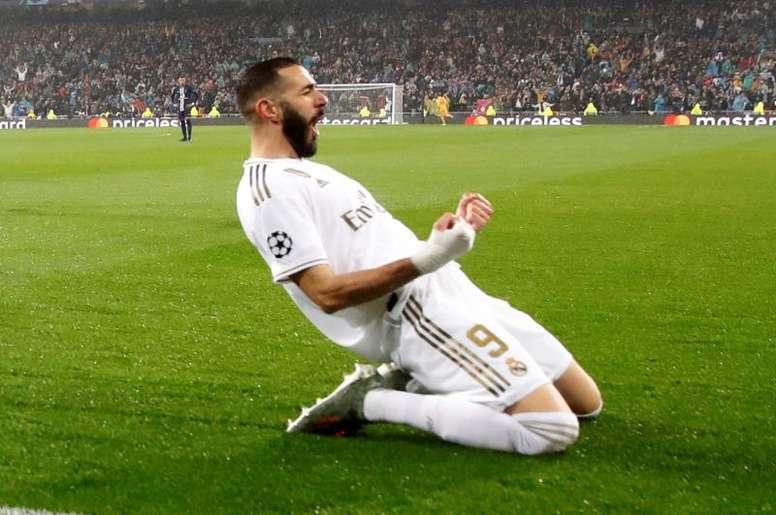 L'énorme saison de Benzema avec le Real. EFE/Juanjo Martín
