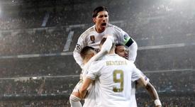 Benzema y Sergio Ramos son los dos principales realizadores del Madrid. EFE