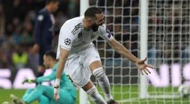 El Madrid y el PSG empatan. EFE