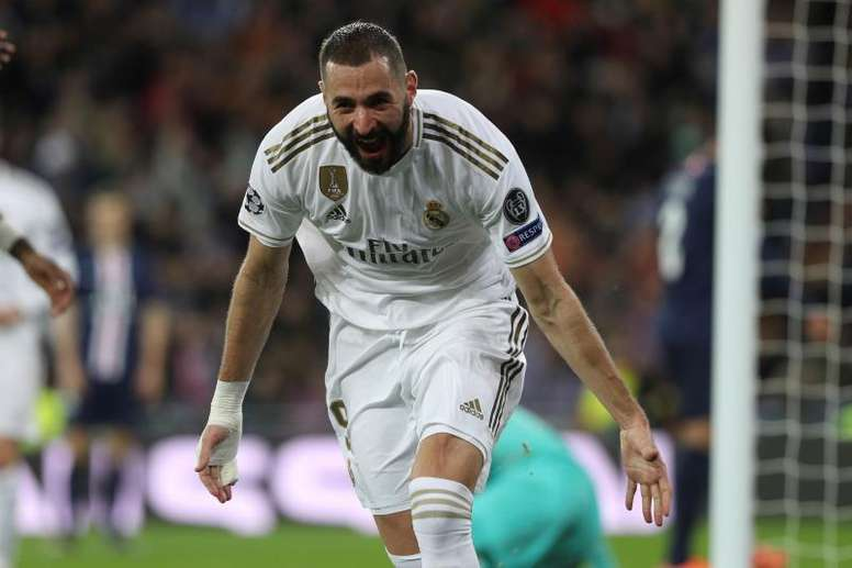 Karim Benzema is shining brightly at the Bernabeu. EFE/Archivo