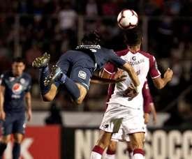 Saprissa aguanta y se proclama campeón de la Liga CONCACAF. EFE/ Gustavo Amador