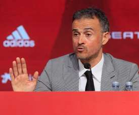 Luis Enrique ha criticato il comportamento di Robert Moreno. EFE