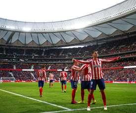 Simeone encara o Barça sem Diego Costa, mas com Saúl e Thomas. EFE