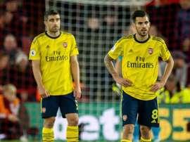 Arsenal ne veut pas rompre le prêt de Ceballos. EFE