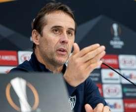 Cluj sera un adversaire compliqué pour Séville. EFE/Raúl Caro