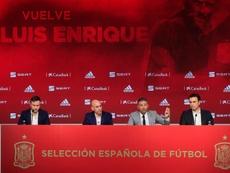 Luis Enrique le dio vía libre a Ramos para los Juegos Olímpicos. EFE/Ballesteros