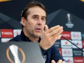Lopetegui analizó el duelo contra el Villarreal. EFE/Archivo