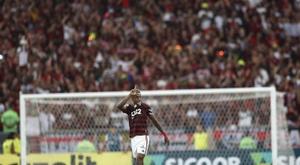 Bruno Henrique teve renovação confirmada. EFE/Marcelo Sayão