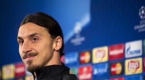 Zlatan continua dando declarações surpreendentes. EFE/Bjoern Lindgren/Archivo
